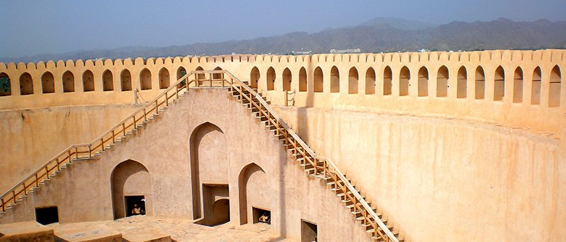 The central tower of Nizwa Fort (Photo courtesy of Robert La Bua).
